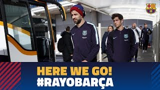 Trip to Madrid ahead of the match against Rayo