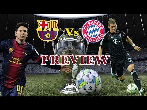 UEFA Champions League : Barcelona Vs Bay Munich || Match Preview