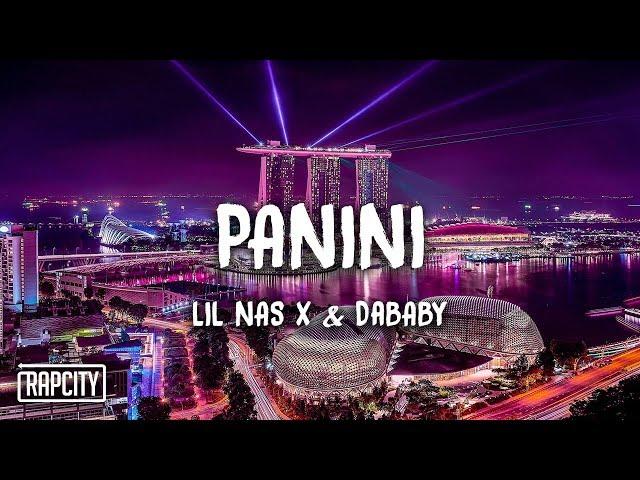 Lil Nas X - Panini ft. DaBaby (Lyrics) thumbnail