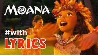 "MOANA Song ""Where You Are"" With LYRICS No CUTSCENES"
