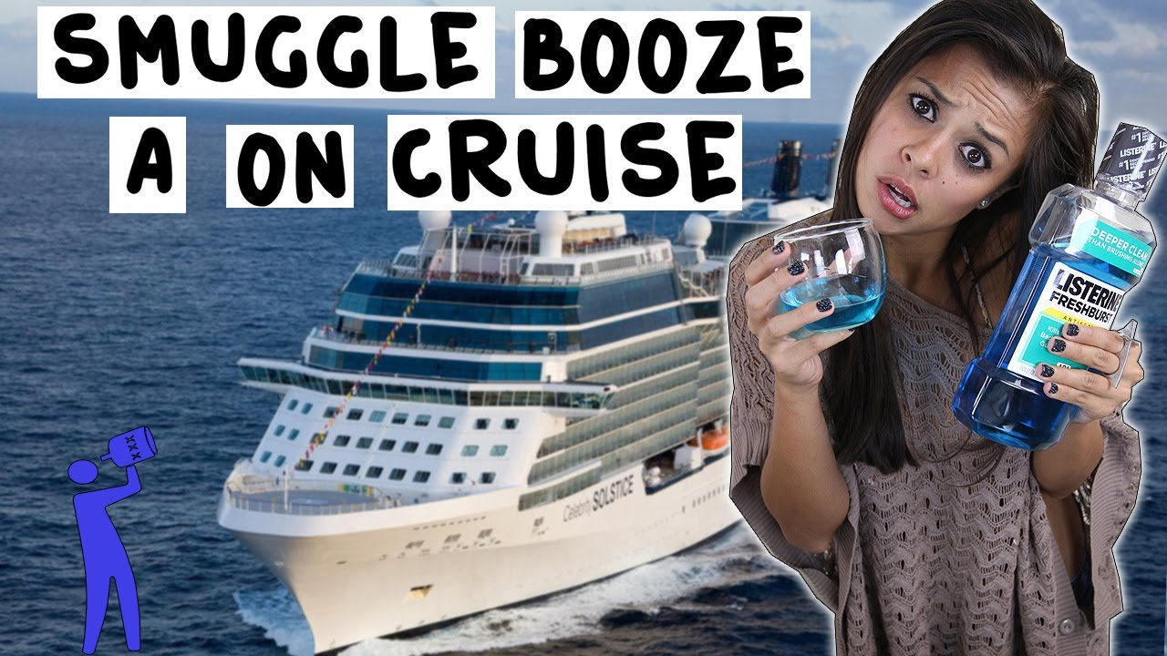 How To Smuggle Alcohol On A Cruise Ship - Tipsy Bartender - YouTube