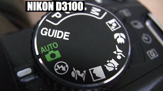 Nikon D3100 Basic beginner shooting operation tutorial training Part 1