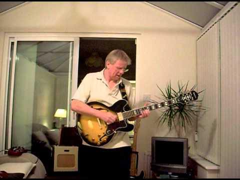 Epiphone Sheraton Blues - Walk In My Shadow - Tribute to Paul Kossoff