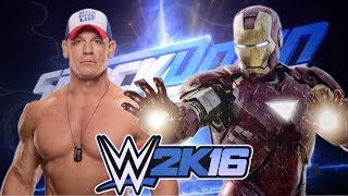 John Cena vs Iron Man