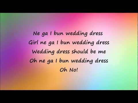 Taeyang - Wedding Dress (easy lyrics)