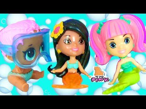 #Русалки Мультик Splashlings WAVE 3 Mermaids КУКЛА ЛОЛ ХОЧЕТ СТАТЬ РУСАЛКОЙ #ИГРУШКИ С МАЙ ТОЙС ПИНК