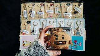 [UNBOXING] BTS Acrylic Keychains | BT21 | Photocard