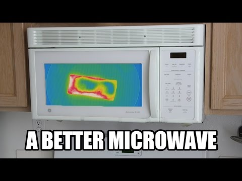 a new microwave invention videos. Black Bedroom Furniture Sets. Home Design Ideas