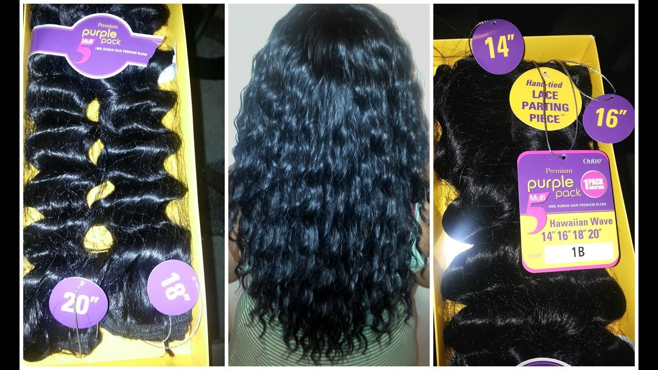 Install Results Outre Premium Purple Pack Hawaiian Wave