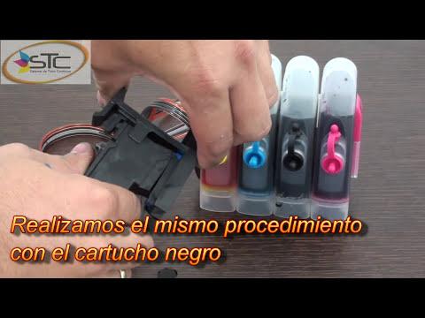 Adaptacion e Instalacion de Sistema de Tinta Continua Canon MP250 STC
