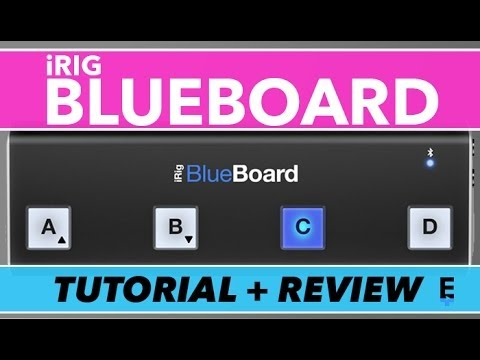 iRig BlueBoard Review, Tutorial and Unboxing | IK Multimedia