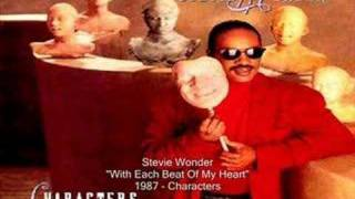 Watch Stevie Wonder With Each Beat Of My Heart video
