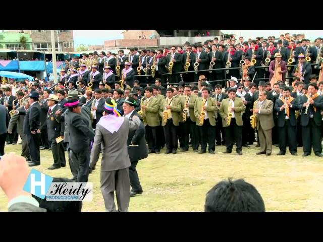 Orquesta sinfonica mas grande de la tunantada 2014 FESTIVAL DE LA TUNANTADA JAUJA