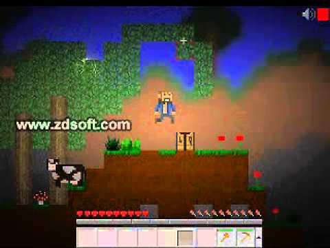mine blocks let's play part 1 (short video)