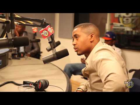 Nas talks to Funk Flex about Kelis's reaction to his Album Cover