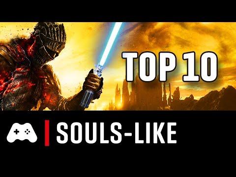 Top 10 ► Die besten Souls-like Spiele (3D Action RPGs/Adventures)