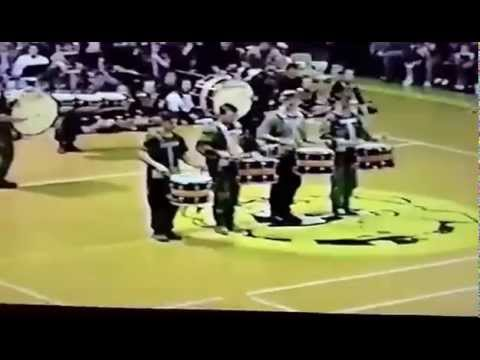 1996-1997 NEDERLAND HIGH SCHOOL (NHS) DRUM LINE