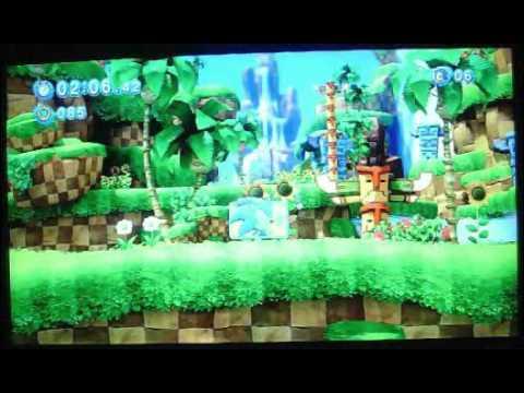 Sonic Generations (Demo 2) XBOX 360 Gameplay Cam