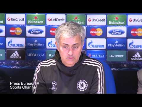 Jose Mourinho reaction Chelsea vs PSG