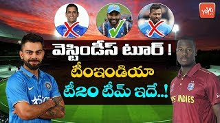 Team India 15 Members Squad for West Indies Tour | India VS West Indies T20 Series 2019