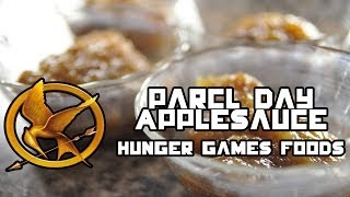 Parcel Day Applesauce (Hunger Game Foods) (TheVegetarianBaker)