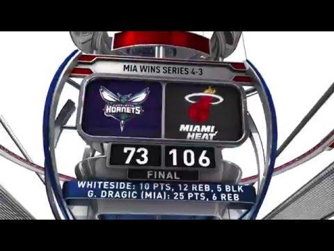 Charlotte Hornets vs Miami Heat - May 1, 2016
