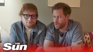 'Gingers unite!' Ed Sheeran collabs with Prince Harry for World Mental Health Day