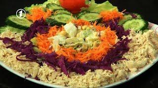Ashpazi - Salad Arabi  - آشپزی - سلاد عربی