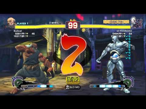POONGKO (Seth) vs Bullcat (Gouken) - AE2012 Endless Matches *720p HD*