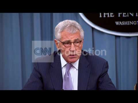 PENTAGON BRFG:HAGEL- IMMINENT THREAT