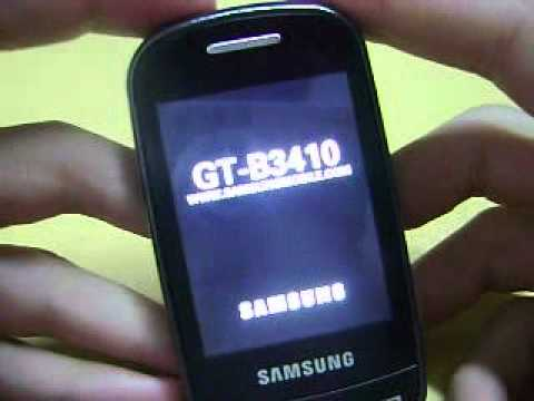 [Video Tutorial]  Liberar Samsung GT B-3410