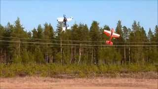 "Extreme Flight 48"" Laser/Extra - pilot: Alf/Simen/Kenneth"