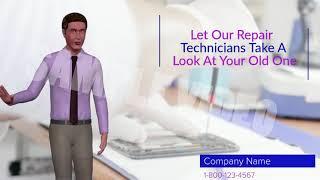 Cell Phone Repair Avatar Spokesperson Video | Local Custom Videos Demo Video
