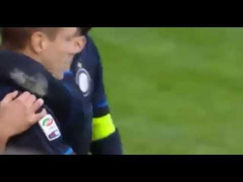 Nemanja Vidic Goaaaal -Inter vs Genoa 3:1