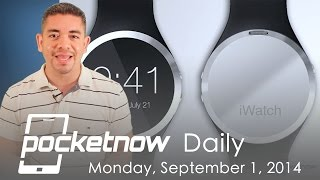 iWatch price, iPhone 6 phablet leaks, Google event & more - Pocketnow Daily