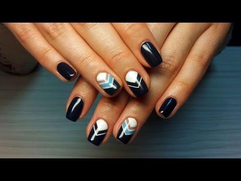 Дизайны shellac фото на ногтях 4