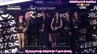Seohyun - Awards accident ^^ (12.02.2014)