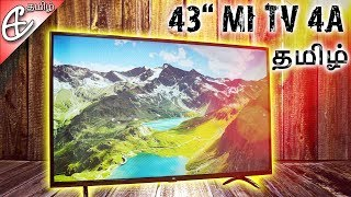 Xiaomi Mi TV 4A 43 inch Smart LED TV Unboxing