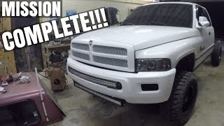 WE MADE BIG TIME $$$$ BY SCRAPPING THIS CUMMINS DODGE RAM TRUCK!!!
