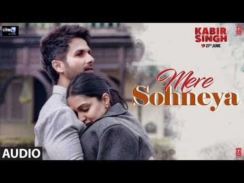 Download Lagu  FULL AUDIO:Mere Sohneya   Kabir Singh   Shahid K, Kiara A, Sandeep V   Sachet - Parampara   Irshad K Mp3 Free
