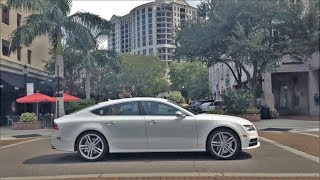 Driving Downtown - Sarasota Florida USA