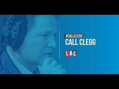 Call Clegg: Live On LBC - Wednesday 19th November 2014