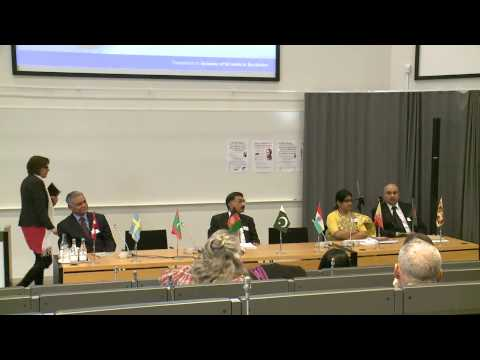 The Ambassadors of the South Asian countries to Sweden in a dialogue with the Speakers