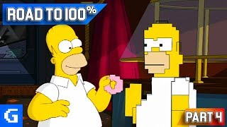 The Simpsons Game [Road to 100%] [#04] - The Old VS The New!