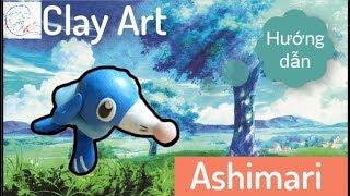 Hướng dẫn nặn đất sét 5   Làm Pokemon - Ashimari