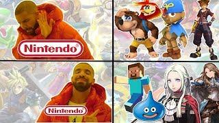 Should Nintendo choosing the Smash Bros Ultimate DLC worry you?