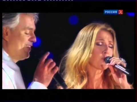 Андреа Бочелли и Селин Дион - Молитва