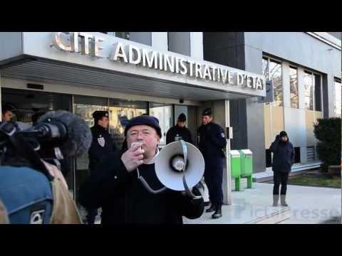 OGM : Les Faucheurs volontaires manifestent à Lyon