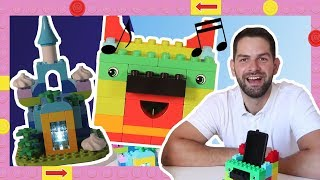 Great LEGO DUPLO Building Ideas for Parents! Phone Speaker and Night Light LEGO Hacks #1
