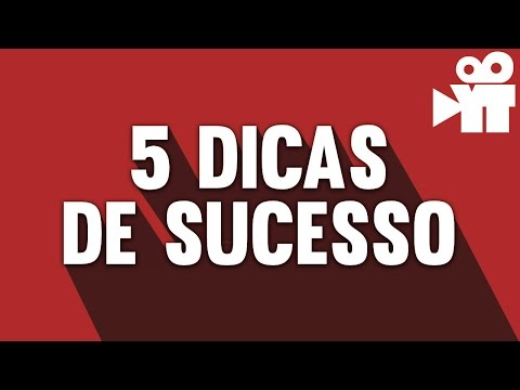 5 Dicas para um canal de Sucesso | Escola para Youtubers thumbnail
